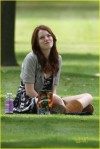 *EXCLUSIVE* Emma Stone gets Goofy on the Job
