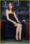 Emma Stone and Chris Rock on Late Night With Jimmy Fallon