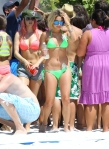 """Ashley, Selena & James Franco Film """"Spring Breakers"""""""